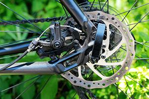 バイクのペダル